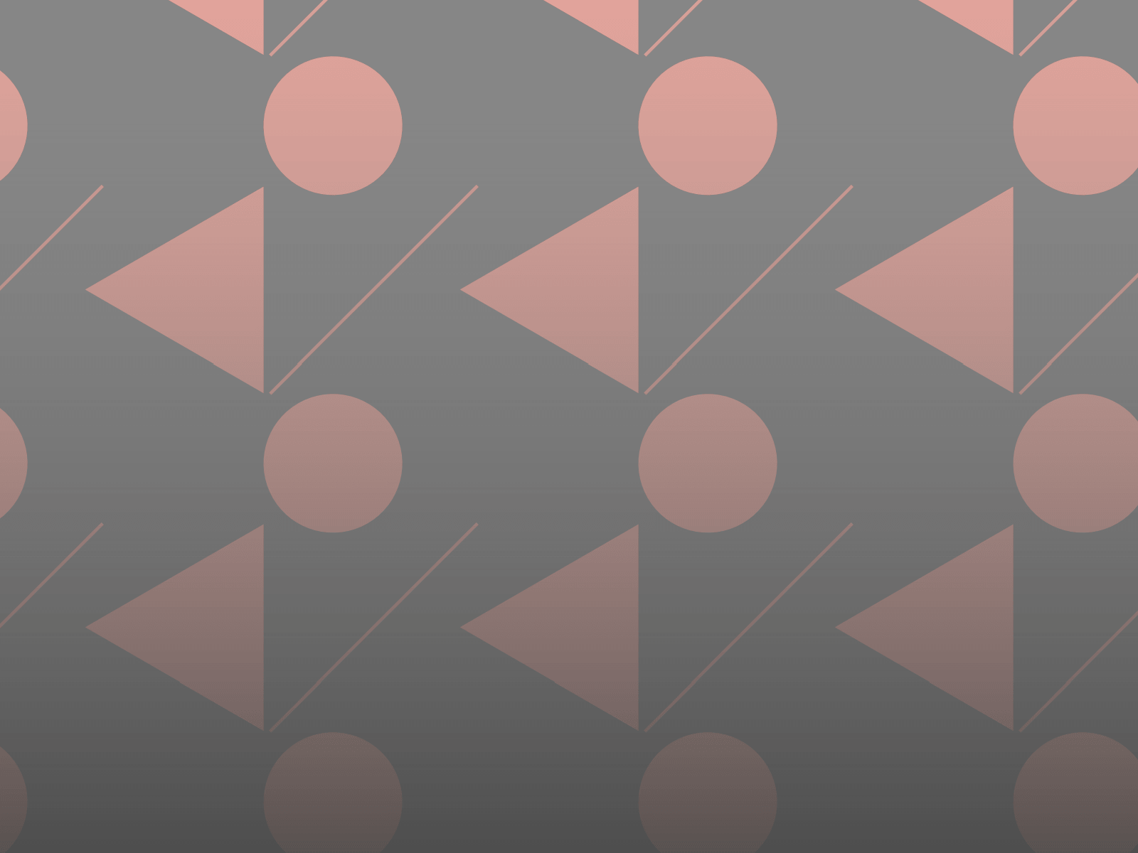 Geometric pattern with fading gradient
